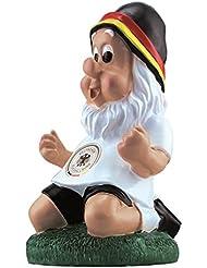 DFB Coupe du Nain de jardin dans Jubel Pose 20cm Allemagne Coupe du monde Em WM des Confédérations Supporter Football europe Décoration de jardin