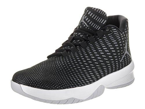 Nike Herren Jordan B Fly Basketballschuhe BLACK/WHITE-DARK GREY-PURE