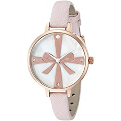 kate spade new york Women's 1YRU0879 Metro Analog Display Japanese Quartz Pink Watch