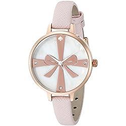 Kate Spade New York Damen-1yru0879Metro Analog Display Japanische Quarz Rosa Armbanduhr