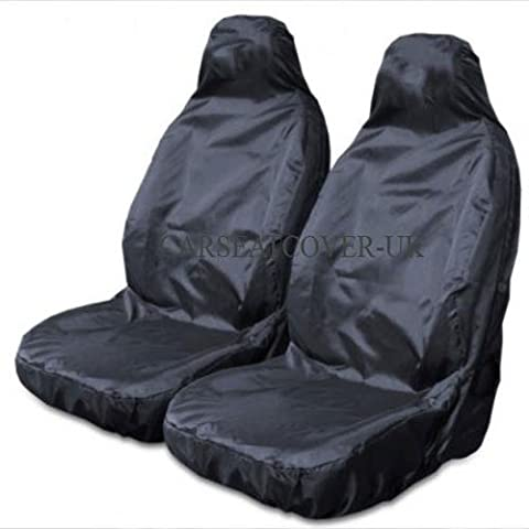 Sports Style Seat Cover set - Grey & Black