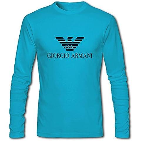 DIY Giorgio Armani long sleeve Tops T shirts -  Maglia a manica lunga  - Uomo