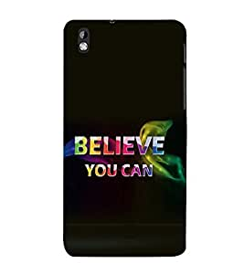 printtech Cool Quotes Back Case Cover for HTC Desire 816::HTC Desire 816 G