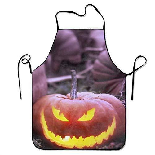 kslae Schürzen für Frauen und Männer Funny Vegan Chef Kitchen Kochen und Backen Schürze Holiday Halloween Bib Schürze High Waist Schürzen