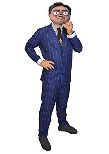 Ciao-Disfraz Gomez Addams Family, talla única, para hombre, azul, 11141