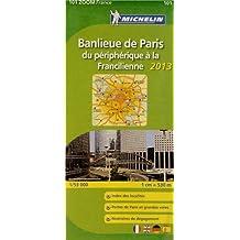 Carte Zoom Banlieue Paris 2013 n°101