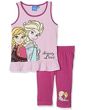 Disney El reino del hielo Chicas Camiseta sin mangas con pantalones capri - malva