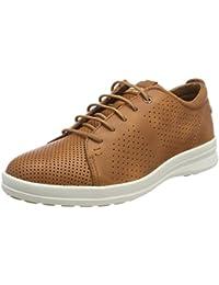 Panama Jack Detroit, Zapatos de Cordones Brogue para Hombre, Marrón (Cuero), 40 EU