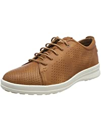 Panama Jack Domani, Zapatos de Cordones Oxford para Hombre, Gris (Grey), 43 EU