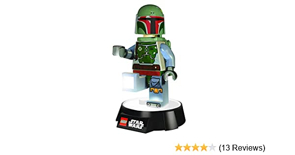 Lego STAR WARS BOBA FETT Minifigure Alarm Clock Xmas Christmas Gift Present