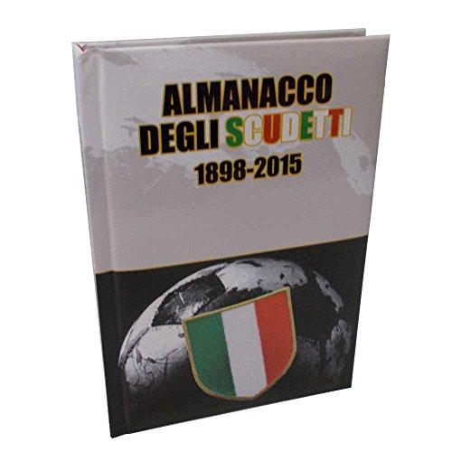 Almanacco degli Scudetti Diario Scuola bianco-nero 2015-2016 57503
