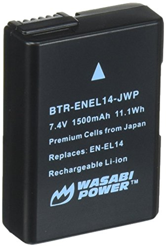 BTR Wasabi Power-ENEL14-DEC - 001 JWP-Ladegerät, Schwarz