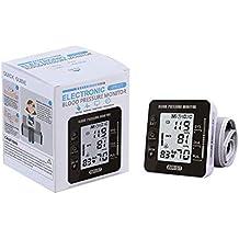 Esfigmomanómetro de muñeca, monitor de manguito de presión arterial, función de memoria de datos