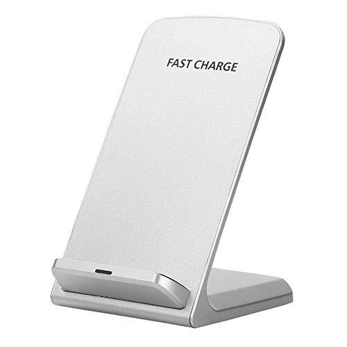 I-Sonite Weiß Qi Certified Desktop-superschnelle 10W Wireless-Charging-Ladestation Ständer für Microsoft Lumia 950 XL Dual SIM Dual-desktop Charging Cradle