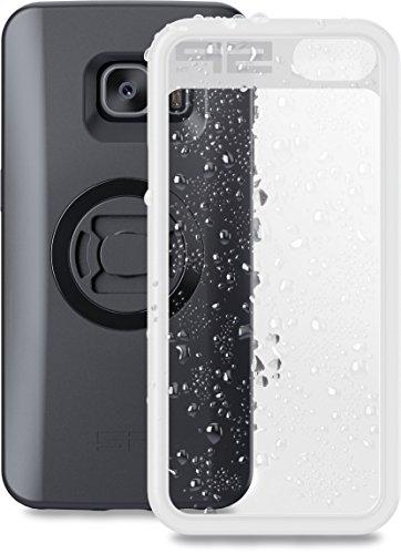 SP Connect Smartphone Wetterschutzhülle SP Weather Cover S7 Durchsichtig, Schwarz (Weather Cover)