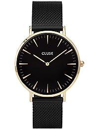 740e6936523d Cluse Reloj Analógico de Cuarzo para Mujer con Correa de Acero Inoxidable –  CL18117