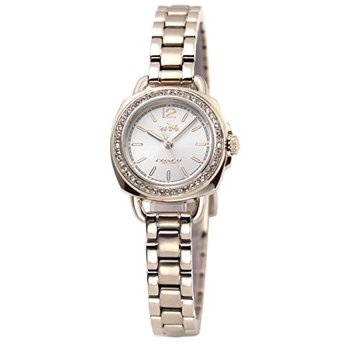 Rose Gold Dial Women's Analog Casual Quartz Coach Watch Tatum 14502575