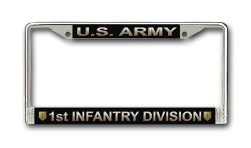US Army 1. Infanterie Division Nummernschild Rahmen (Marine Corps Nummernschild)