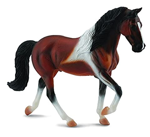 Collecta - Col88450 - Etalon Tennessee Walking Horse - Baie Pie - Taille Xl