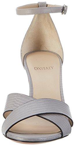 Oxitaly - Safiana 113, Sandali Donna Grigio (Grigio)
