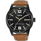 Lorus Sports leather Strap Men's Watch RH985HX9