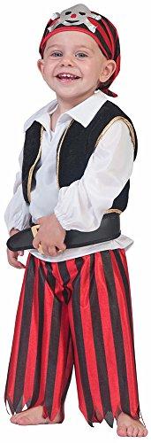 Baby Pirat Seefahrer Kostüm Gr. 98 (Kostüm Jungen Pirat Kleinkind)