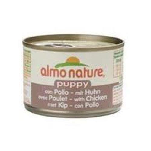 Almo Nature - Classic Puppy con Pollo Lattina 95,00 gr
