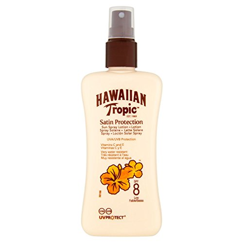 Hawaiian Tropic Satin Protection Sun Spray Lotion LSF 8, 200ml