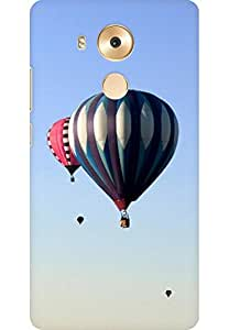 AMEZ designer printed 3d premium high quality back case cover for Huawei Mate 8 (Rare scenic hot air balloon)