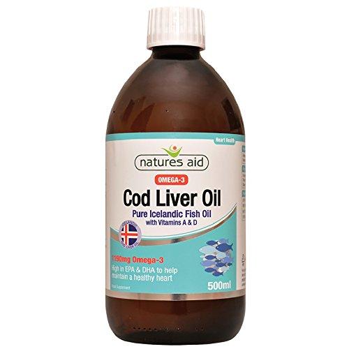 Artikelbild: Natures Aid Health Cod Liver Oil Liquid 500ml
