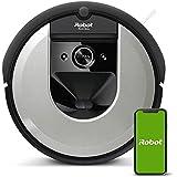iRobot Roomba i7156 Robot Aspirapolvere, Memorizza la planimetria della tua casa, Adatto per Peli di Animali Domestici, spazz