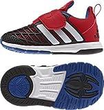 adidas Unisex Baby Disney Spider-Man CF I Sneaker, Rot/Weiß / Schwarz (Rojint/Ftwbla / Negbas), 22 EU