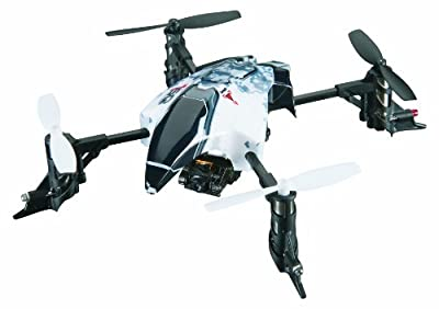 Heli-Max 1SQ Ready-to-Fly V-Cam Quadcopter with 2.4Ghz SLT Radio