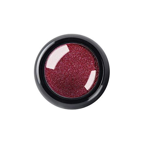 masrin Flash-Spiegel Pulver Effekt glänzenden Nagelpulver DIY polnischen Nail Art erweitert Nagel Titan Pulver Spiegel Magie Nagel Pulver (D, Mehrfarbig) (Pink Sprinkles Glitter)