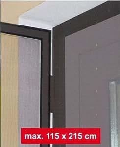 Insektenschutztür Ohne Bohren Befestigen : klemmzarge f r insektenschutzt r braun zur montage ohne bohren garten ~ Watch28wear.com Haus und Dekorationen