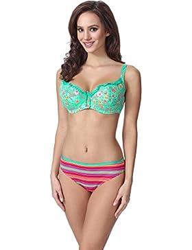 Feba Mujer Moldeadora Cuerpo Bikini F05 2