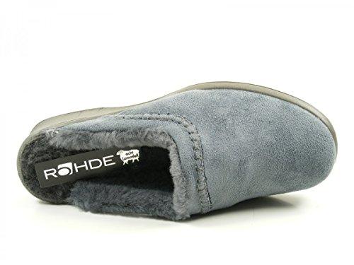Rohde 2510, Chaussons Mules Femme Grau
