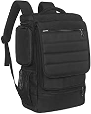 Laptop Backpack,17 Inch Multifunctional Unisex Travel Bags Knapsack,rucksack Backpack Hiking Bags Students Sch