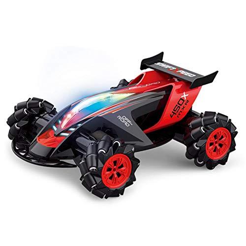 TNT RC Ferngesteuertes Auto Wasserdicht Car 2,4 Ghz Spielzeug mit Fernbedienung, 4WD Lange Fahrzeit und High Speed Rennauto Outdoor und Indoor Fahrzeug Modell für Erwachsene Kinder ab 6 Jahre,Schwarz