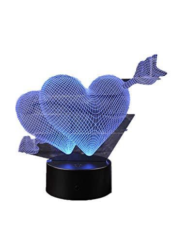 rt Von einem Pfeil, entfernte Lampe, Touch mach lieber, 7 umlaufend led-bildschirme - Farben Chang mach lieber Basis knacken ()
