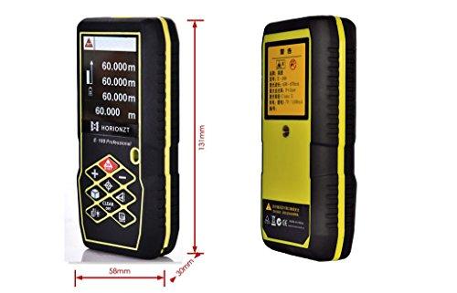 ᐅᐅ】horionzt 100 m 328ft laser entfernungsmesser handheld digital