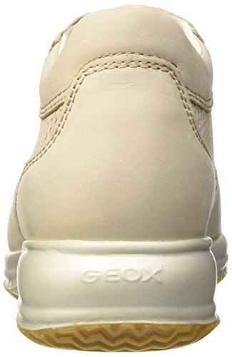 Geox Damen D Happy A Sneakers Beige (Beigec5016)