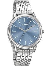 Sonata Analog Purple Dial Women's Watch-8170SM01