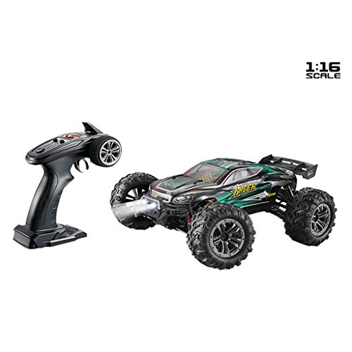 Webla - Auto Rc, Truck.Q903 Brushless 1.16 2.4G 4Wd 52 Km/H High Speed   Truck Bigfoot Rtr RC Car - Fernbedienung Grün Suv