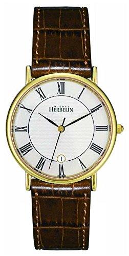 Michel Herbelin 12443-P08GO Reloj de Hombres Classic