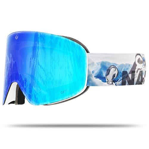 NAKED Optics Troop EVO Pingu (Blue Lens), ohne Schlechtwetterglas