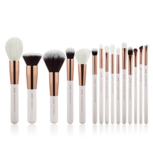Jessup 15 Stück Professionelle Make-up-Pinsel-Set Make up Pinsel Werkzeug-Set Foundation Puder...