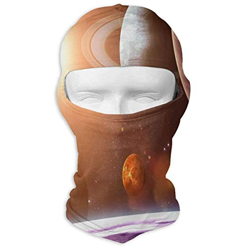 Rainbow and Lavender Fields Full Face Masks UV Balaclava Protection Ski Headcover Motorcycle Neck Warmer Tactical Hood for Cycling Outdoor Sports Mountaineering Women Men Youth Unisex8 - Headcover Turban