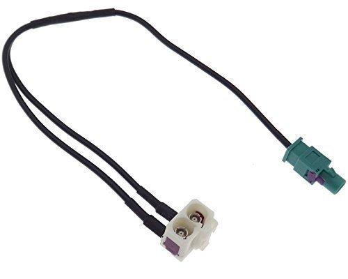 Antenne Adapter Doppel Fakra Verteiler RNS-E RCD 300 500 510 MFD2 RNS 310 510 - Doppel-antennen-adapter