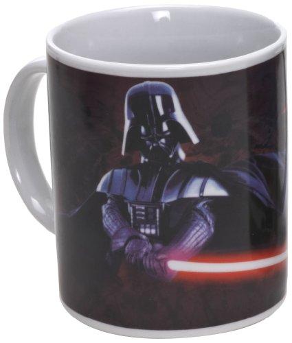 Star Wars 99107 - Darth Vader - Taza de cerámica en paquete regalo (12 x 9 x 10 cm)